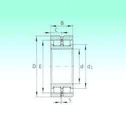 130 mm x 180 mm x 50 mm  NBS SL024926 roulements à rouleaux cylindriques