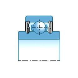 17 mm x 47 mm x 27 mm  SNR AB12572 roulements rigides à billes