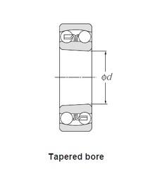 50,000 mm x 90,000 mm x 23,000 mm  SNR 2210KEEG15 roulements à billes auto-aligneurs
