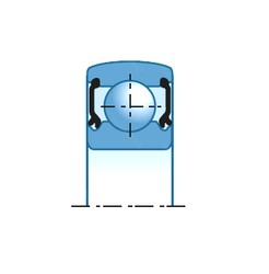 20,000 mm x 47,000 mm x 14,000 mm  SNR 6204SEE roulements rigides à billes