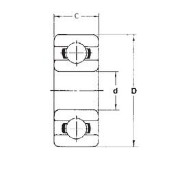 2 mm x 5 mm x 2,5 mm  FBJ MR52ZZ roulements rigides à billes