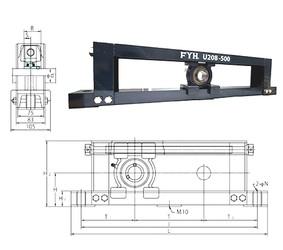 FYH UCTU211-500 unités de roulement