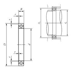 130 mm x 146 mm x 8 mm  IKO CRBS 1308 A UU roulements à rouleaux de poussée