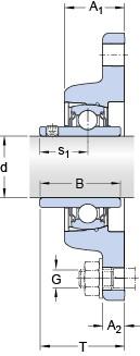 SKF FYT 1.3/8 TF/VA228 unités de roulement