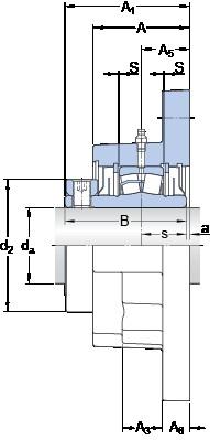 SKF FYR 1 1/2-18 unités de roulement