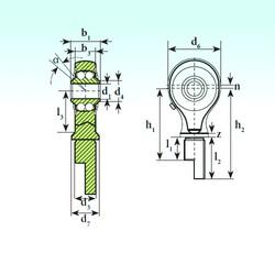 ISB TSM 10-01 BB-E roulements à billes auto-aligneurs