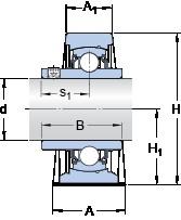 SKF SY 2.15/16 TF/VA228 unités de roulement