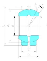114,3 mm x 177,8 mm x 100,013 mm  LS GEZ114ES paliers lisses