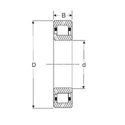 65 mm x 140 mm x 33 mm  SIGMA NJ 313 roulements à rouleaux cylindriques