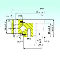 ISB ZR1.14.0544.201-3SPTN roulements à rouleaux de poussée
