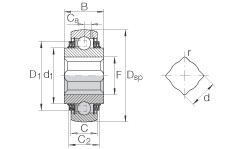 INA GVK102-208-KTT-B-AH10-AS2/V roulements rigides à billes