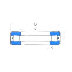 Timken T83W roulements à rouleaux de poussée