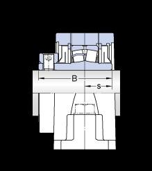SKF SYR 2 7/16-18 unités de roulement