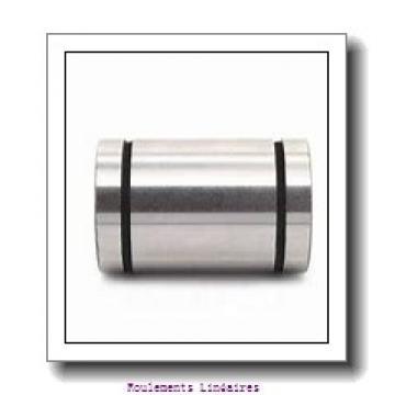 50 mm x 75 mm x 77,6 mm  Samick LME50AJ roulements linéaires
