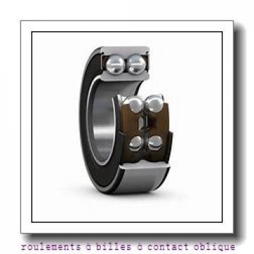 65,000 mm x 120,000 mm x 38,100 mm  SNR 5213ZZG15 roulements à billes à contact oblique