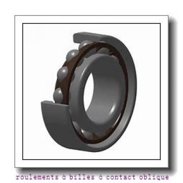 25 mm x 47 mm x 12 mm  FAG 7005-B-2RS-TVP roulements à billes à contact oblique