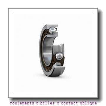 37,6 mm x 203 mm x 157,8 mm  PFI PHU5057 roulements à billes à contact oblique
