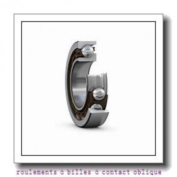 60 mm x 130 mm x 31 mm  ISO 7312 C roulements à billes à contact oblique