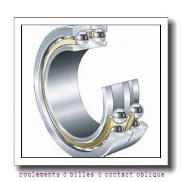 38,1 mm x 68 mm x 37 mm  NSK DAC2001 roulements à billes à contact oblique