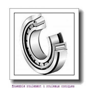 Axle end cap K95199 Dispositif de roulement à rouleaux coniques compacts