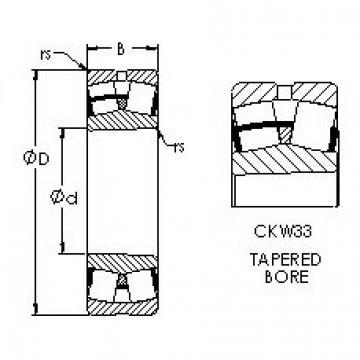 AST 22311CKW33 roulements à rouleaux sphériques