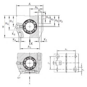 INA KGNS 40 C-PP-AS roulements linéaires