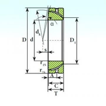 ISB GAC 170 S paliers lisses