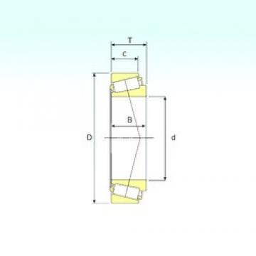 70 mm x 120 mm x 37 mm  ISB 33114 Roulements à rouleaux coniques