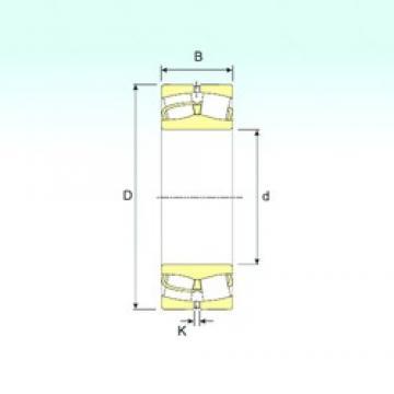 360 mm x 600 mm x 192 mm  ISB 23172 roulements à rouleaux sphériques