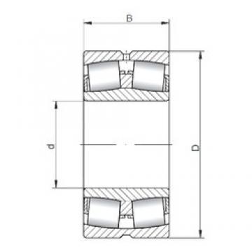 560 mm x 820 mm x 195 mm  ISO 230/560W33 roulements à rouleaux sphériques