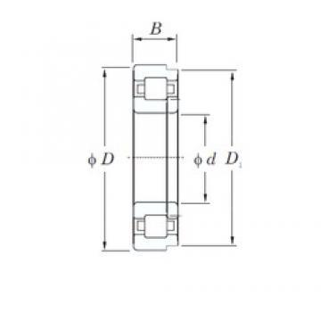 420 mm x 620 mm x 90 mm  KOYO NUP1084 roulements à rouleaux cylindriques