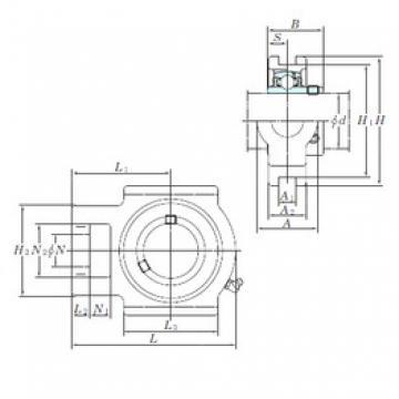 KOYO UCTX11-36E unités de roulement