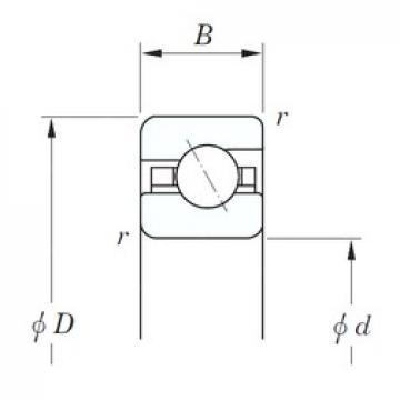 107,95 mm x 120,65 mm x 6,35 mm  KOYO KAA042 roulements à billes à contact oblique