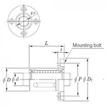 KOYO SDMF12MG roulements linéaires