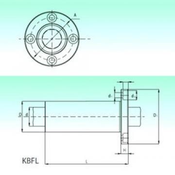 NBS KBFL 30 roulements linéaires