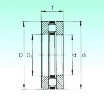 75 mm x 110 mm x 8 mm  NBS 81215TN roulements à rouleaux de poussée