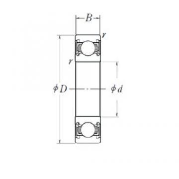 100 mm x 150 mm x 24 mm  NSK 6020DDU roulements rigides à billes