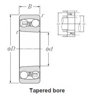 45 mm x 85 mm x 23 mm  NTN 2209SK roulements à billes auto-aligneurs