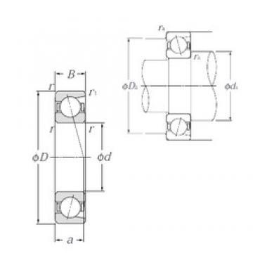 150 mm x 270 mm x 45 mm  NTN 7230 roulements à billes à contact oblique
