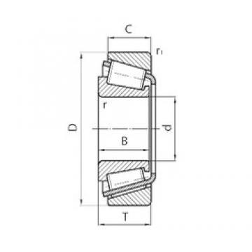 PFI 3780/20 Roulements à rouleaux coniques