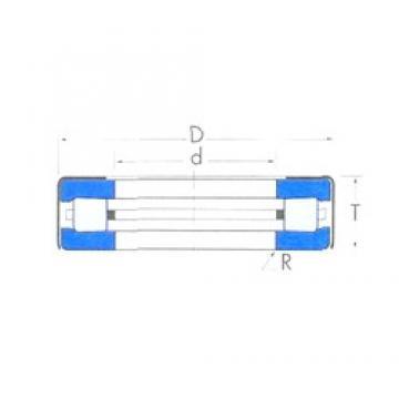 Timken T76W roulements à rouleaux de poussée