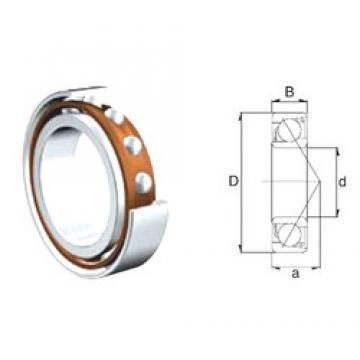 45 mm x 85 mm x 19 mm  ZEN 7209B roulements à billes à contact oblique