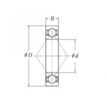 120 mm x 260 mm x 55 mm  CYSD QJ324 roulements à billes à contact oblique