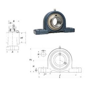 FYH UCPX20 unités de roulement