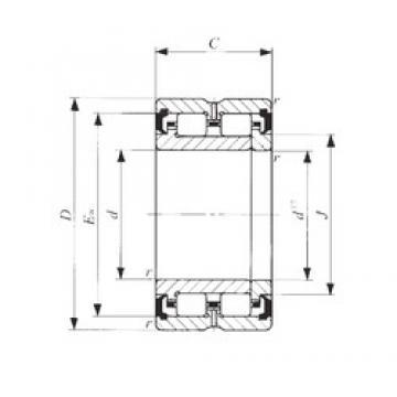 30 mm x 48 mm x 30 mm  IKO TRU 304830UU roulements à rouleaux cylindriques