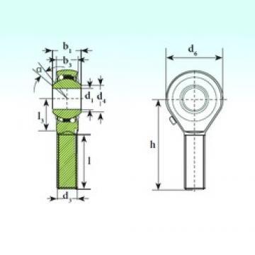 ISB TSM 12 BB-O roulements à billes auto-aligneurs