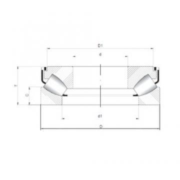 ISO 29288 M roulements à rouleaux de poussée