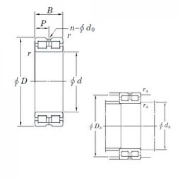 300 mm x 420 mm x 118 mm  KOYO DC4960AVW roulements à rouleaux cylindriques