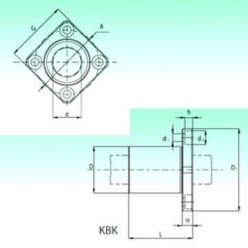 NBS KBK 30-PP roulements linéaires