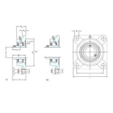 SKF FYJ 1.1/2 TF unités de roulement